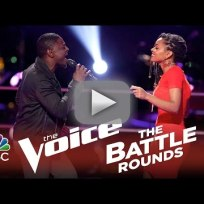 Damien vs. Kelli Douglas (The Voice Battle Round)