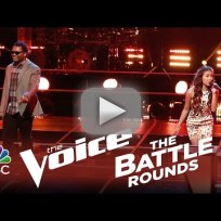 Blessing offor vs katriz trinidad the voice battle round