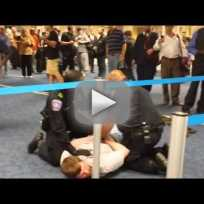 Paul rudd in airport fight