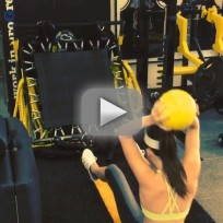 Kendall jenner workout video