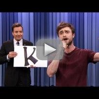 Daniel radcliffe raps alphabet aerobics