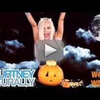 Courtney stodden halloween video