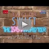 Taylor Swift Tour Announcement