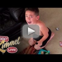 Jimmy kimmel live halloween prank we ate your candy