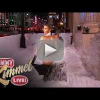 Kim kardashian naked and snowblowing