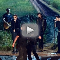 One direction night changes american music awards