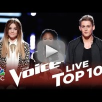 The voice top 10 elimination save