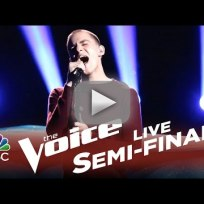 Chris jamison when i was your man the voice semifinals
