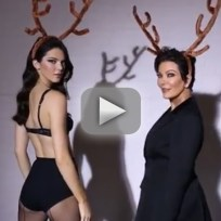 Kendall and kris jenner love magazine video