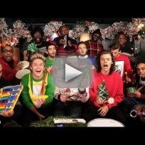 One direction jimmy fallon santa claus is coming to town