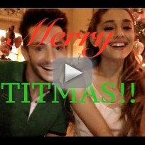 Ariana and frankie grande titmas carols