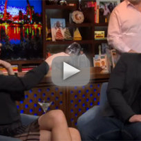 Brandi glanville throws wine on watch what happens live