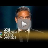 George clooney golden globe awards 2015 speech
