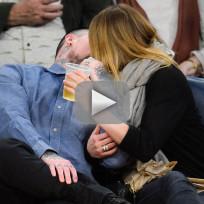 Cameron diaz and benji madden kiss cam alert