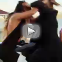 Mob wives fight