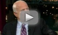 John McCain on Letterman!