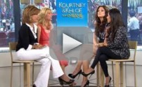 Kourtney and Khloe on Today Show