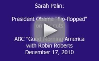 Sarah Palin Speaks to GMA