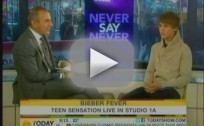 Justin Bieber on Today Show