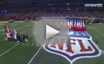 Christina Aguilera: Super Bowl National Anthem