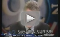 Bill Clinton: I Never Inhaled