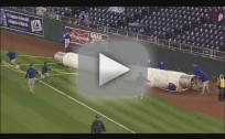 Tarp Rolls Over Poor Sap
