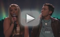 Lauren Alaina and Scotty McCreery - Up On The Roof (American Idol)