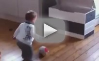 One-Year-Old Signs Soccer Contract