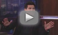 Taylor Lautner on Jimmy Kimmel
