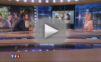 Bradley Cooper Gives Interview in French