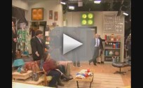 Michelle Obama on iCarly Set