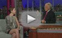 Emma Watson on the Late Show