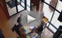 Deer Crashes Into Restaurant