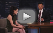 Kristen Stewart on Jimmy Kimmel Live: Part One
