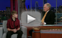 Justin Bieber on The Late Show with David Letterman