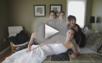 Bridal Party Breaks Bed