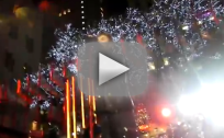 Justin Bieber and Usher at Rockefeller Christmas Tree Lighting