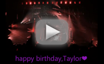 Taylor Swift Birthday Tribute