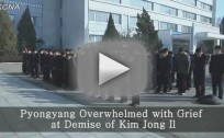 North Koreans Mourning Kim Jong Il