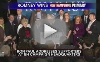 Ron Paul Speech After New Hampshire Primary