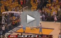 Baron Davis Dunks on Kirilenko
