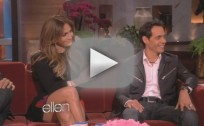 Jennifer Lopez and Marc Anthony on Ellen