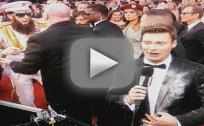 Sacha Baron Cohen Dumps Ashes on Ryan Seacrest