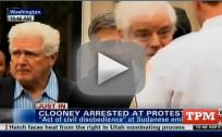 George Clooney Arrested in D.C.