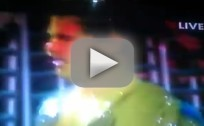Taylor Lautner Gets Slimed