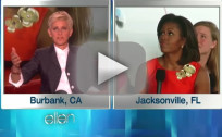 Michelle Obama on Ellen - Push-Up Memories