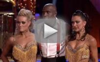 Donald Driver, Peta Murgatroyd and Karina Smirnoff on Dancing With the Stars