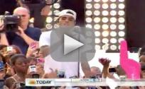 Chris Brown - Don't Wake Me Up (Live on Today 2012)