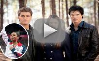 Vampire Diaries Stars to Gabby Douglas: Good luck!