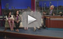 U.S. Women's Gymnastics Team on Letterman